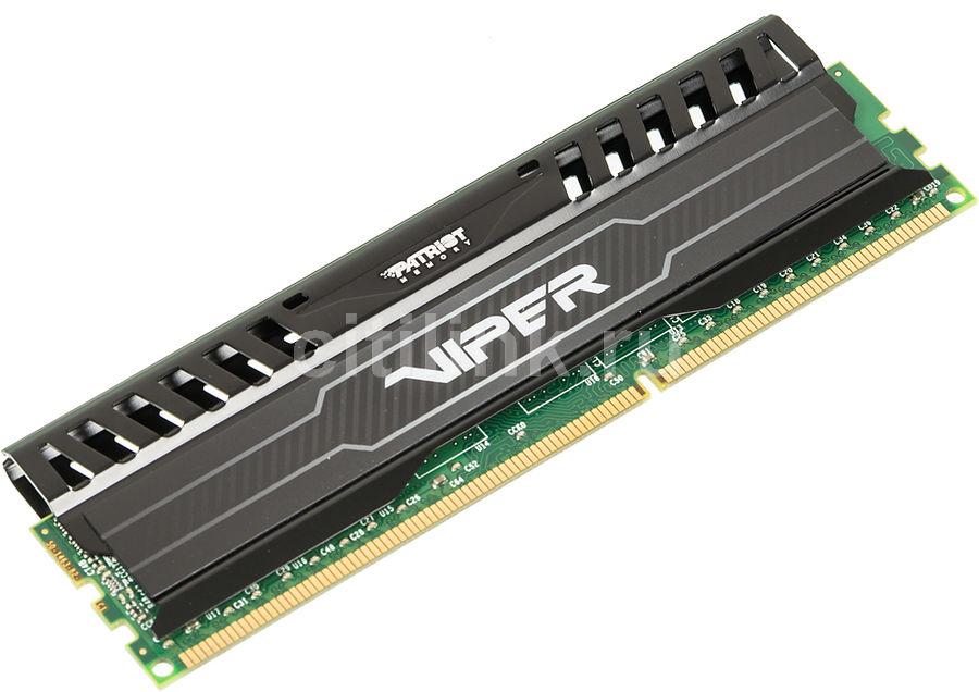 Модуль памяти PATRIOT Viper 3 PV38G160C0 DDR3 -  8Гб 1600, DIMM,  Ret