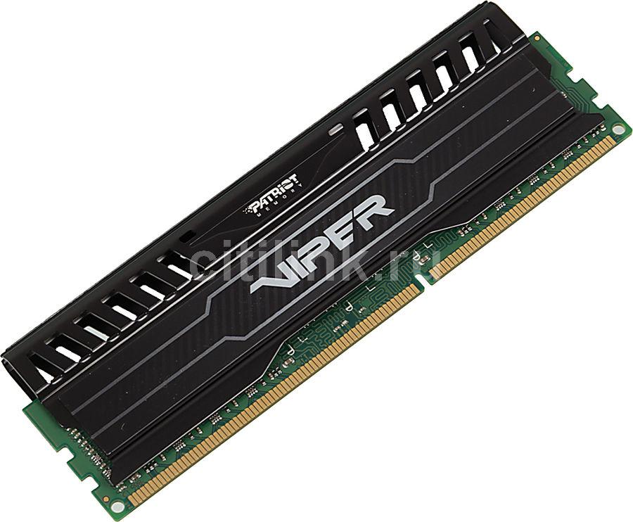 Модуль памяти PATRIOT Viper 3 PV38G186C0 DDR3 -  8Гб 1866, DIMM,  Ret