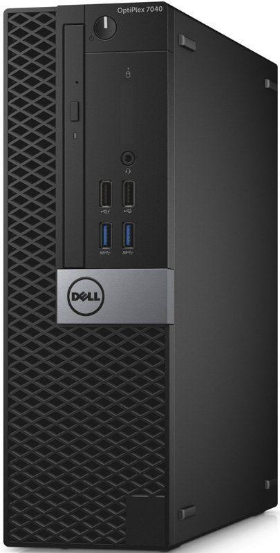 Компьютер  DELL Optiplex 7040,  Intel  Core i5  6500,  DDR4 4Гб, 500Гб,  Intel HD Graphics 530,  DVD-RW,  Windows 7 Professional,  черный и серый [7040-0071]