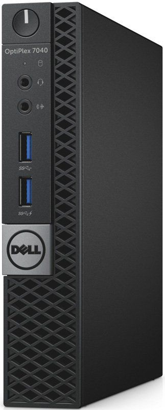 Компьютер  DELL Optiplex 7040,  Intel  Core i5  6500T,  DDR4 4Гб, 500Гб,  Intel HD Graphics 530,  Windows 7 Professional,  черный и серебристый [7040-0101]