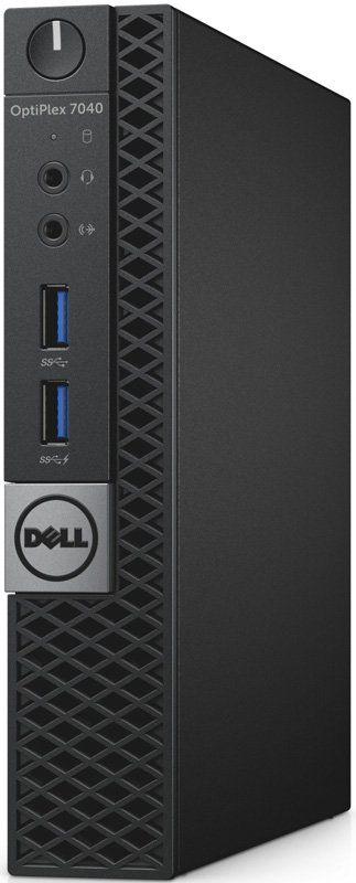 Компьютер  DELL Optiplex 7040,  Intel  Core i5  6500T,  DDR4 8Гб, 256Гб(SSD),  Intel HD Graphics 530,  Windows 7 Professional,  черный и серебристый [7040-0125]