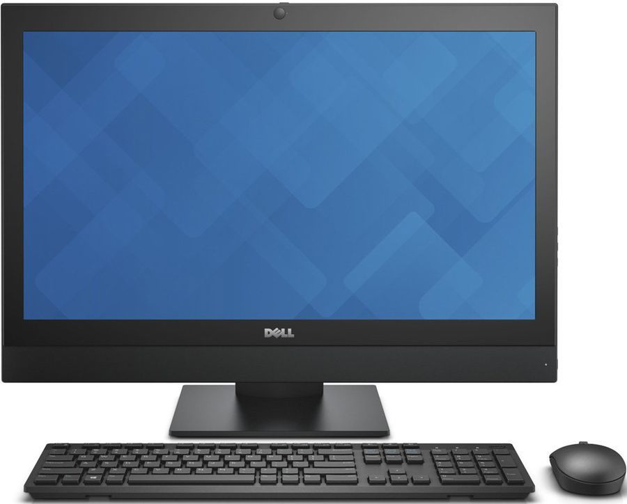 Моноблок DELL Optiplex 7440, Intel Core i5 6500, 8Гб, 256Гб SSD,  Intel HD Graphics 530, DVD-RW, Windows 7 Professional, черный [7440-0163]