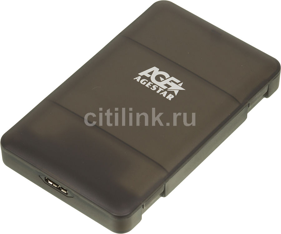 Внешний корпус для  HDD/SSD AGESTAR 31UBCP3, черный