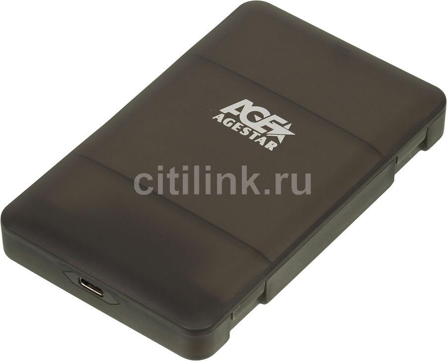 Внешний корпус для  HDD/SSD AGESTAR 31UBCP3C, черный