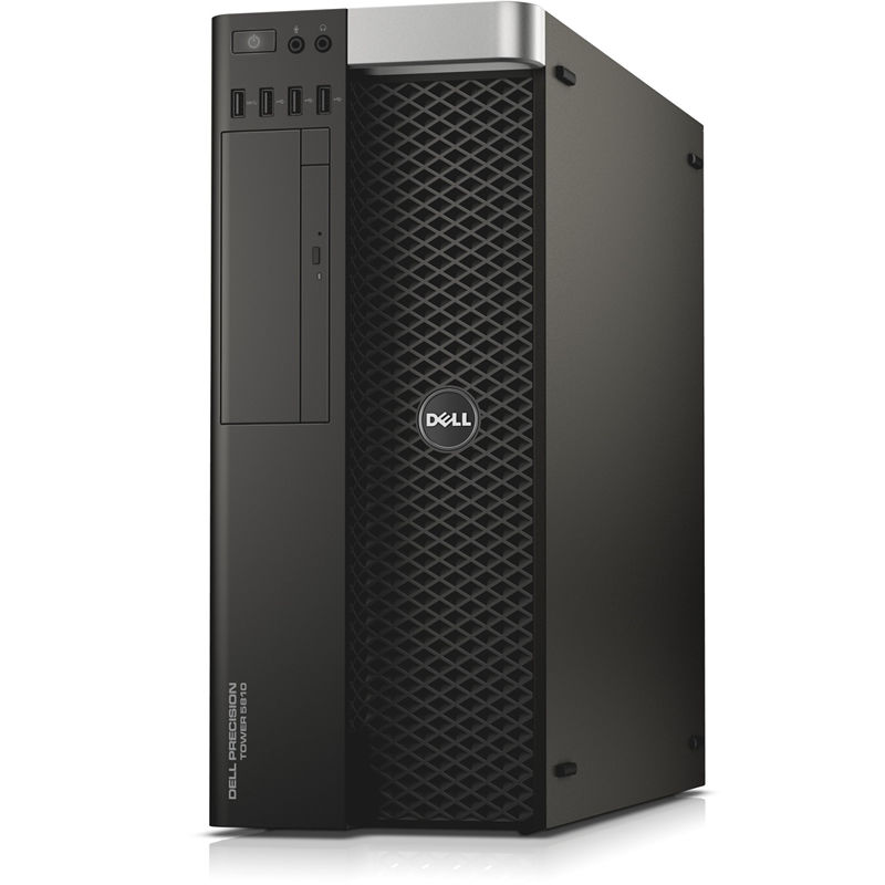 Рабочая станция  DELL Precision T5810,  Intel  Xeon  E5-1620 v4,  DDR4 16Гб, 2Тб,  256Гб(SSD),  nVIDIA Quadro M4000 - 8192 Мб,  DVD-RW,  Windows 7 Professional,  черный [5810-0255]