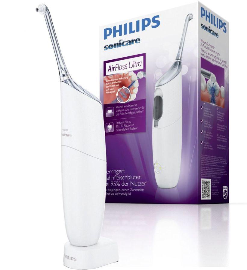 Ирригатор PHILIPS Sonicare AirFloss Ultra HX8331/01 белый