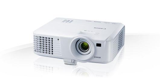 Проектор CANON LV-WX320 белый [0908c003]