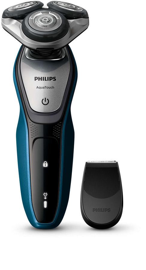 Электробритва PHILIPS S5420/06,  черный и синий