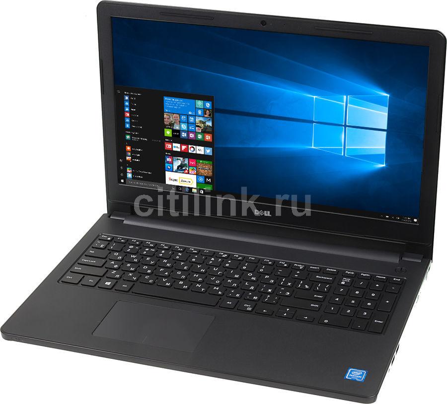 "Ноутбук DELL Inspiron 3552, 15.6"",  Intel  Pentium  N3710 1.6ГГц, 4Гб, 500Гб,  Intel HD Graphics  405, DVD-RW, Windows 10, 3552-3072,  черный"