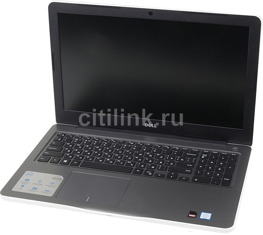 Ноутбук DELL Inspiron 5567, 15.6, Intel Core i7 7500U 2.7ГГц, 8Гб, 1000Гб, AMD Radeon R7 M445 - 4096 Мб, DVD-RW, Windows 10, белый [5567-3201] ноутбук dell inspiron 5567 15 6 1366x768 intel core i3 6006u 5567 7881