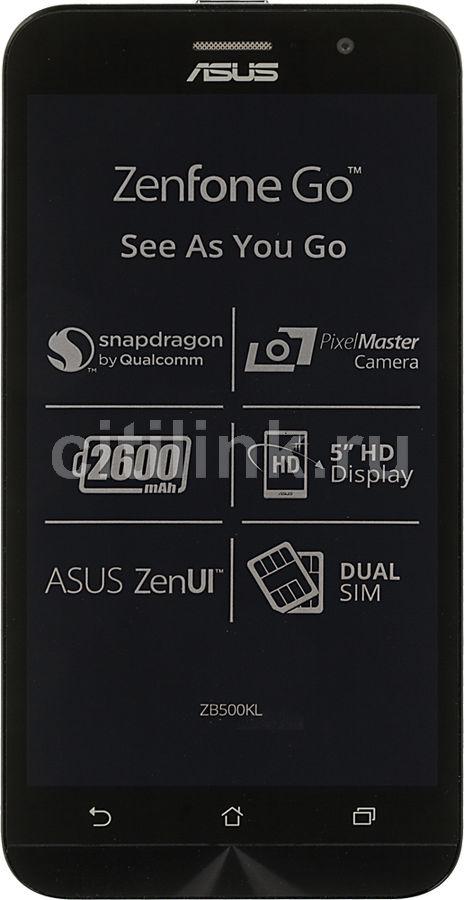 Смартфон ASUS Zenfone Go ZB500KL  16Gb, RAM 2Gb, белый