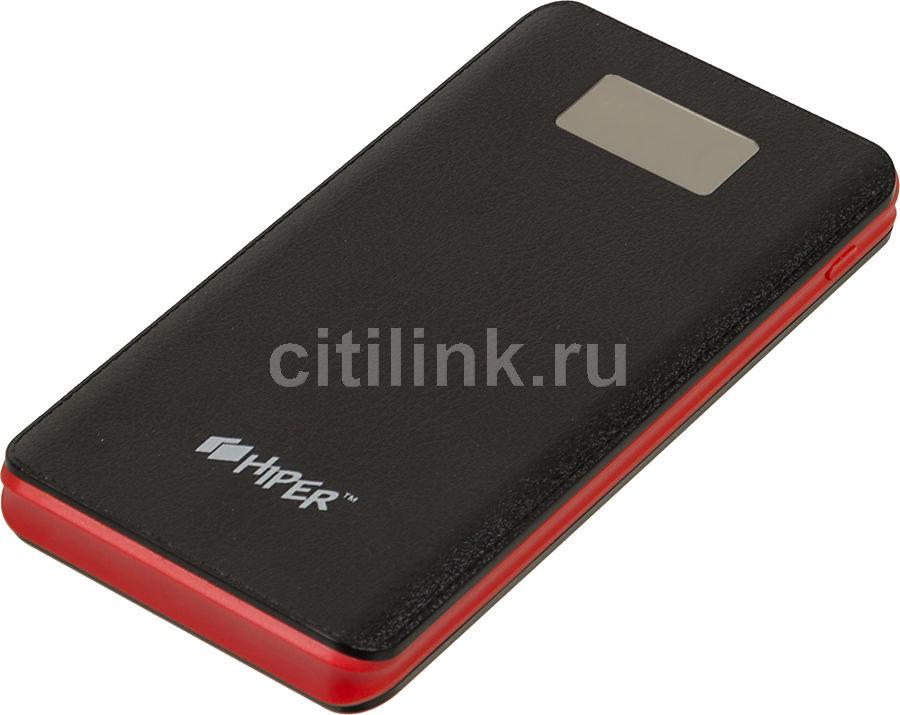 Внешний аккумулятор (Power Bank) HIPER BS10000,  10000мAч,  черный [bs10000 black]