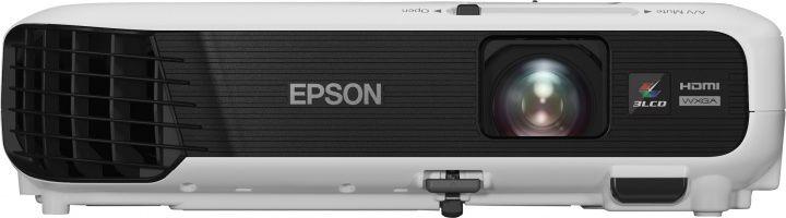 Проектор EPSON EB-W04 черный [v11h718040]