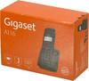 Радиотелефон GIGASET A116,  черный вид 8