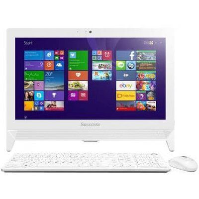 Моноблок LENOVO C20-00, Intel Pentium J3710, 4Гб, 1Тб, Intel HD Graphics 405, DVD-RW, Windows 10, белый [f0bb00yerk]