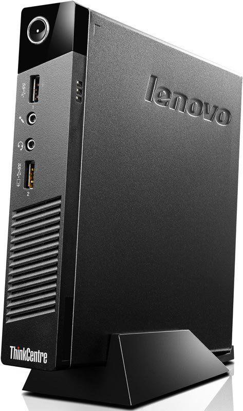 Компьютер  LENOVO ThinkCentre M53 Tiny,  Intel  Celeron  J1800,  DDR3 4Гб, 500Гб,  Intel HD Graphics,  Windows 8.1,  черный [10des00m00]