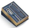Набор Waterman Expert 3 DeLuxe (1978713) Obsession Blue CT ручка перьевая M в компл.:чехол для ручки вид 3