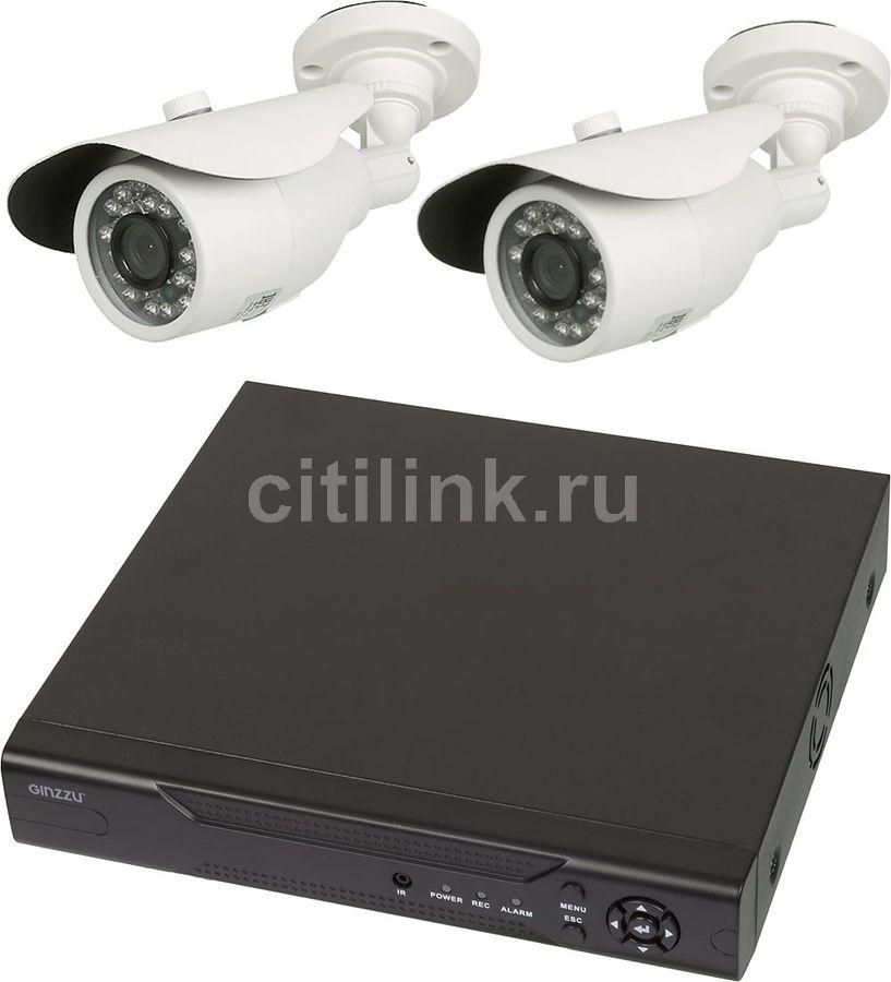 Комплект видеонаблюдения GINZZU HK-421D