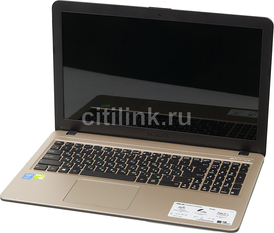 Ноутбук ASUS X540LJ-XX755T, 15.6, Intel Core i3 5005U, 2.0ГГц, 4Гб, 500Гб, nVidia GeForce 920M - 1024 Мб, Windows 10, черный [90nb0b11-m11210]Ноутбуки<br>экран: 15.6;  разрешение экрана: 1366х768; процессор: Intel Core i3 5005U; частота: 2.0 ГГц; память: 4096 Мб, DDR3L; HDD: 500 Гб, 5400 об/мин; nVidia GeForce 920M - 1024 Мб; WiFi;  Bluetooth; HDMI; WEB-камера; Windows 10<br>