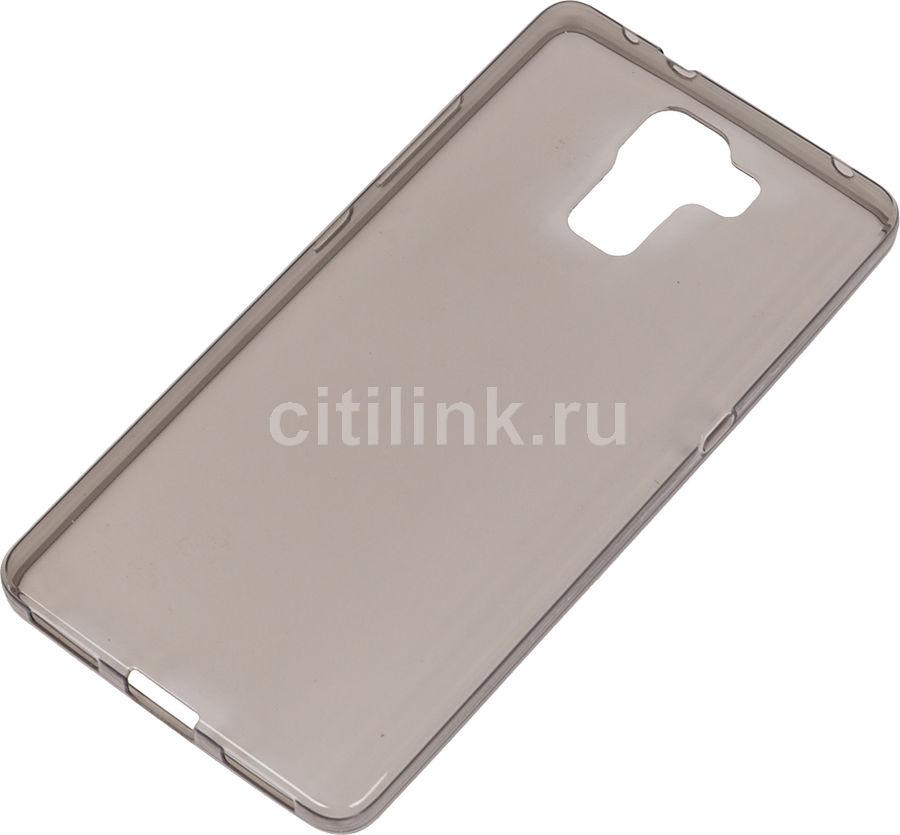 Чехол (клип-кейс) REDLINE iBox Crystal, для Huawei Honor 7, серый [ут000007889]