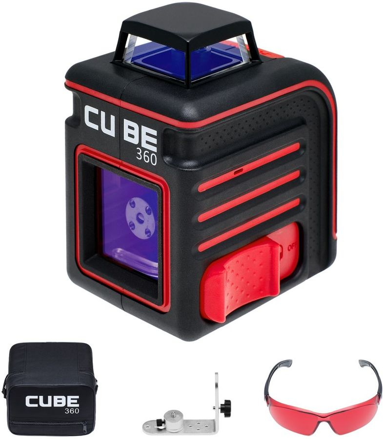Лазерный нивелир ADA Cube 360 Home Edition [а00444] лазерный уровень нивелир ada cube mini basic edition