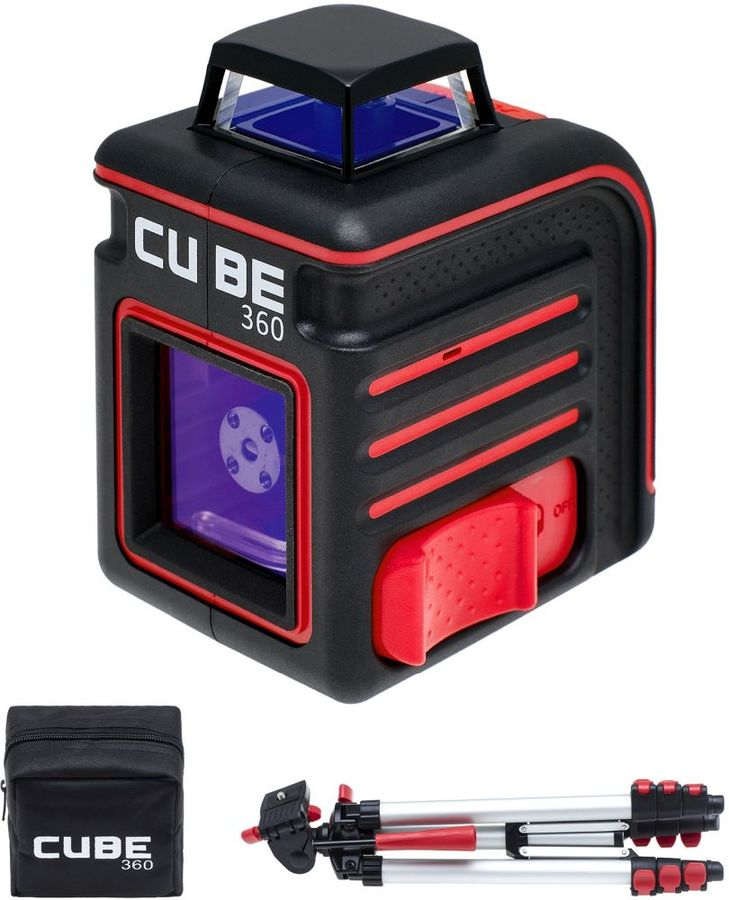 Лазерный нивелир Ada Cube 360 Professional Edition (отремонтированный)