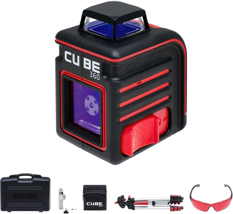 Лазерный нивелир ADA Cube 360 Ultimate Edition [а00446] лазерный уровень ada cube 360 home edition