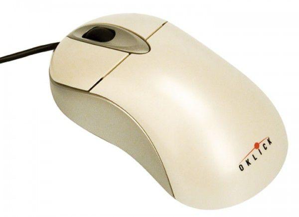 Мышь OKLICK 303M оптическая проводная USB, PS/2, белый