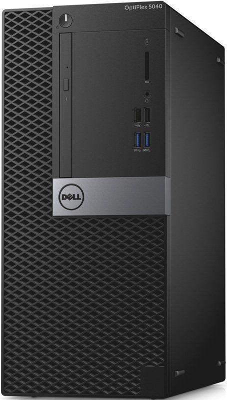 Компьютер  DELL Optiplex 5040,  Intel  Core i5  6500,  DDR3L 4Гб, 500Гб,  Intel HD Graphics 530,  DVD-RW,  Windows 7 Professional,  черный и серебристый [5040-2587]