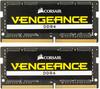 Модуль памяти CORSAIR Vengeance CMSX16GX4M2A2400C16 DDR4 -  2x 8Гб 2400, SO-DIMM,  Ret вид 1
