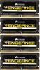 Модуль памяти CORSAIR Vengeance CMSX64GX4M4A2400C16 DDR4 -  4x 16Гб 2400, SO-DIMM,  Ret вид 1