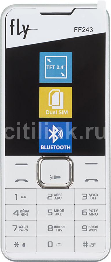 Мобильный телефон FLY FF243,  белый
