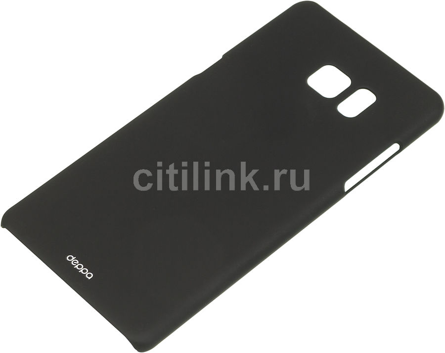 Чехол (клип-кейс) DEPPA Air Case, для Samsung Galaxy Note 7, черный [83265]