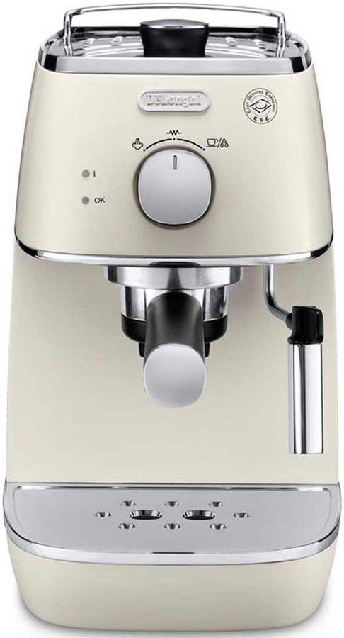 Кофеварка DELONGHI ECI341W,  эспрессо,  белый [0132104143]