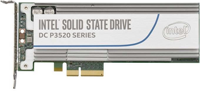 SSD накопитель INTEL DC P3520 SSDPEDMX012T701 1.2Тб, PCI-E AIC (add-in-card), PCI-E x4,  NVMe [ssdpedmx012t701 943979]