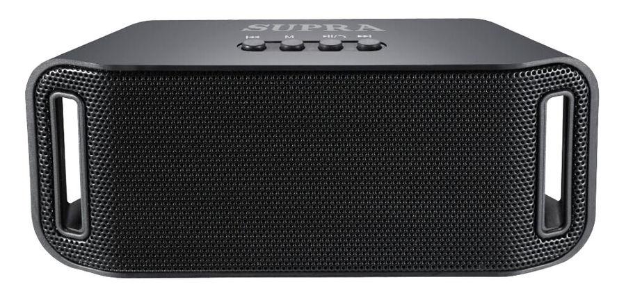 Аудиомагнитола SUPRA BTS-545,  черный
