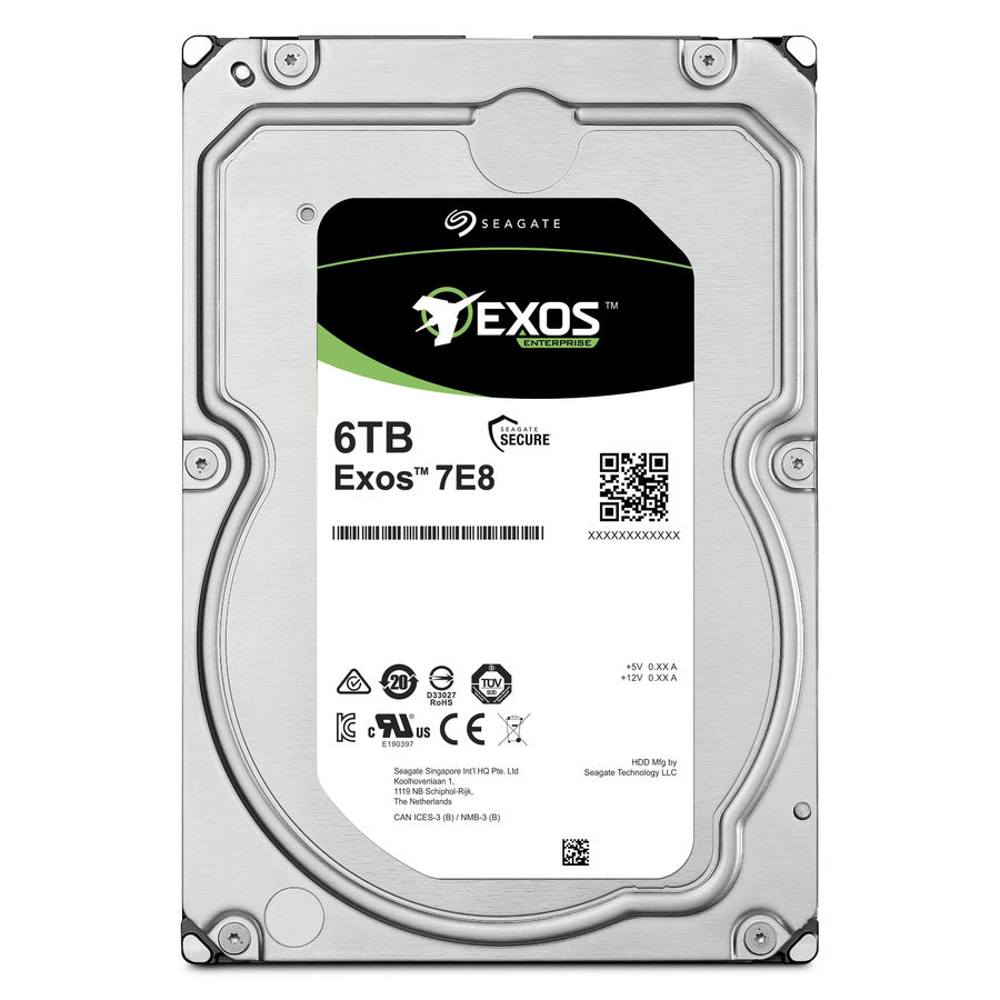 Жесткий диск SEAGATE Enterprise Capacity ST6000NM0115, 6Тб, HDD, SATA III, 3.5 жесткий диск 5tb seagate enterprise capacity 3 5 hdd st5000nm0024