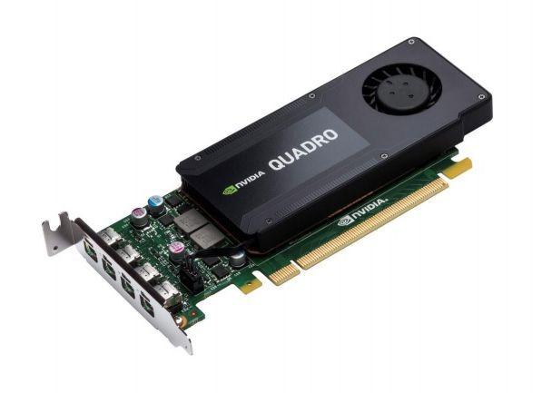 Видеокарта HP Quadro K1200,  Quadro,  4Гб, GDDR5, Low Profile,  Ret [t7t59aa]