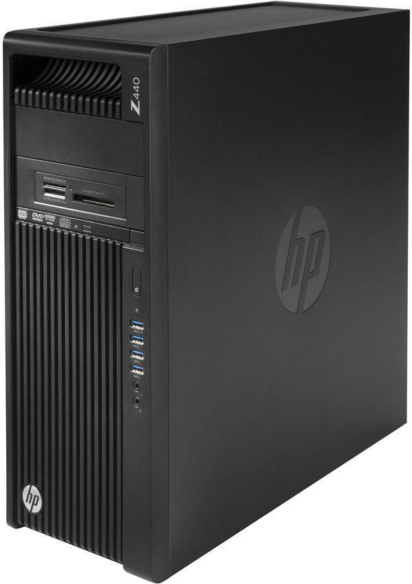 Рабочая станция  HP Z440,  Intel  Xeon  E5-1620 v4,  DDR4 16Гб, 256Гб(SSD),  DVD-RW,  CR,  Windows 10 Professional,  черный [y3y38ea]