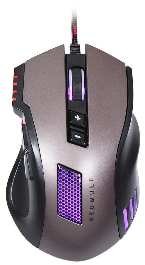 Мышь OKLICK 805G V2 BEOWULF, игровая, оптическая, проводная, USB, черный [g800]