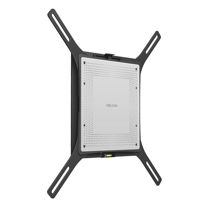 """Кронштейн для телевизора Holder LCD-F4801 черный 32""""-65"""" макс.40кг настенный фиксированный"""