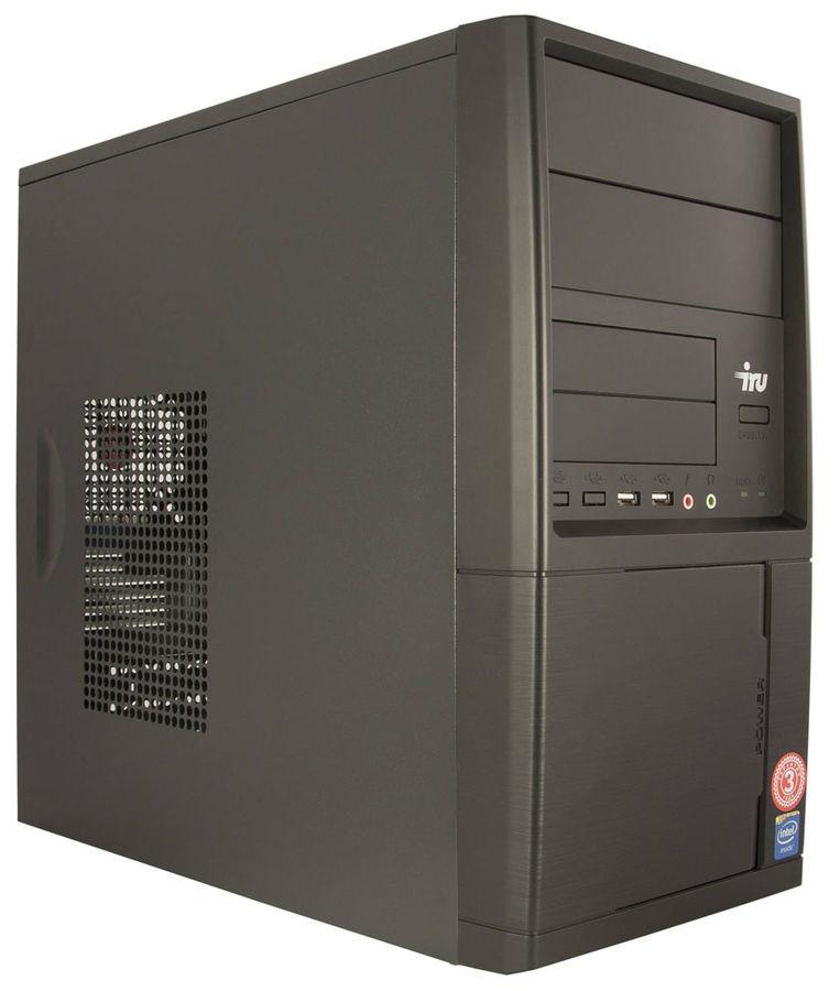 Компьютер  IRU City 310,  Intel  Pentium  G4400,  DDR4 4Гб, 500Гб,  Intel HD Graphics 510,  Windows 7 Professional,  черный [393270]