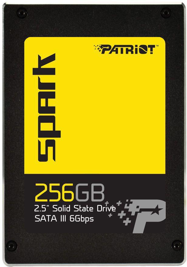 "SSD накопитель PATRIOT SPARK PSK256GS25SSDR 256Гб, 2.5"", SATA III"