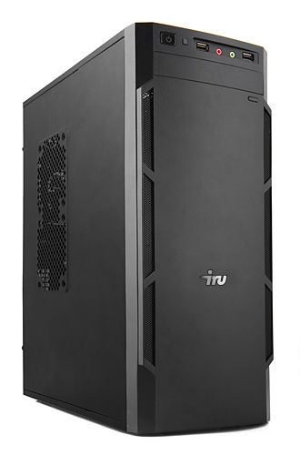 Компьютер  IRU Office 311,  Intel  Core i3  4170,  DDR3 4Гб, 1Тб,  Intel HD Graphics 4400,  DVD-RW,  Windows 7 Professional,  черный [393375]