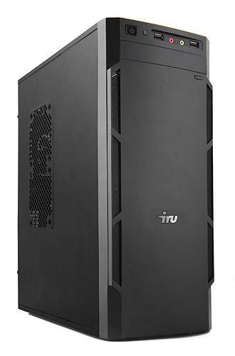 Компьютер  IRU Office 511,  Intel  Core i5  6400,  DDR4 8Гб, 1Тб,  Intel HD Graphics 530,  DVD-RW,  Windows 7 Professional,  черный [393414]
