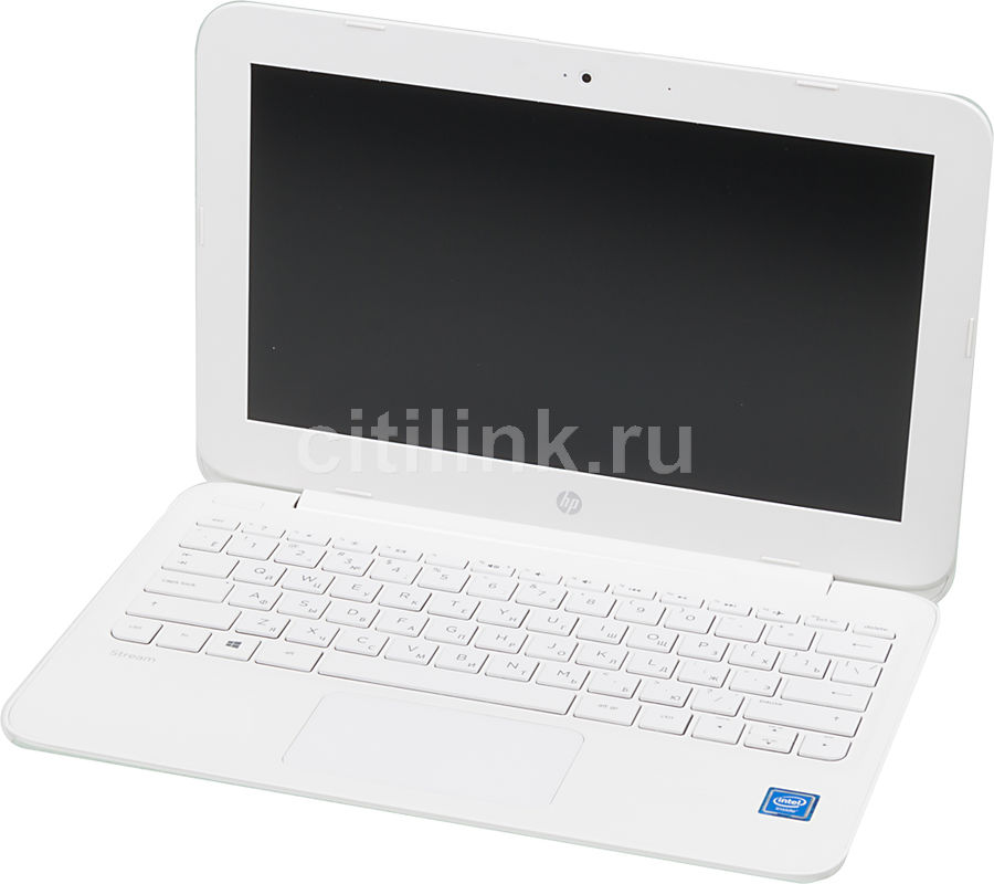 Ноутбук HP Stream 11-y006ur, 11.6, Intel Celeron N3050, 1.6ГГц, 4Гб, 32Гб SSD, Intel HD Graphics , Windows 10, белый [y7x25ea]Ноутбуки<br>экран: 11.6;  разрешение экрана: 1366х768; процессор: Intel Celeron N3050; частота: 1.6 ГГц (2.16 ГГц, в режиме Turbo); память: 4096 Мб, DDR3L, 1600 МГц; SSD: 32 Гб; Intel HD Graphics ; WiFi;  Bluetooth; HDMI; WEB-камера; Windows 10<br><br>Линейка: Stream