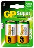 D Батарейка GP Super Alkaline 13A LR20,  2 шт. вид 1