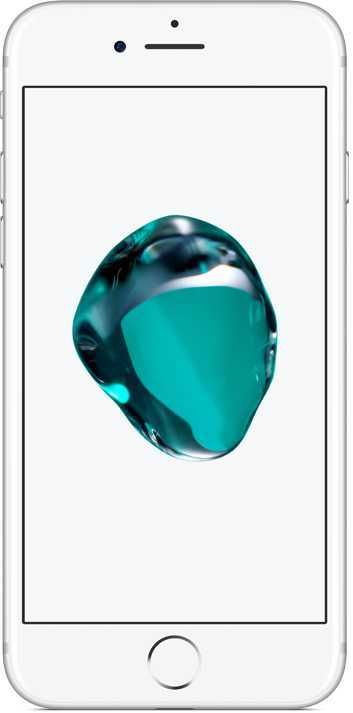 Смартфон APPLE iPhone 7 128Gb,  MN932RU/A,  серебристый