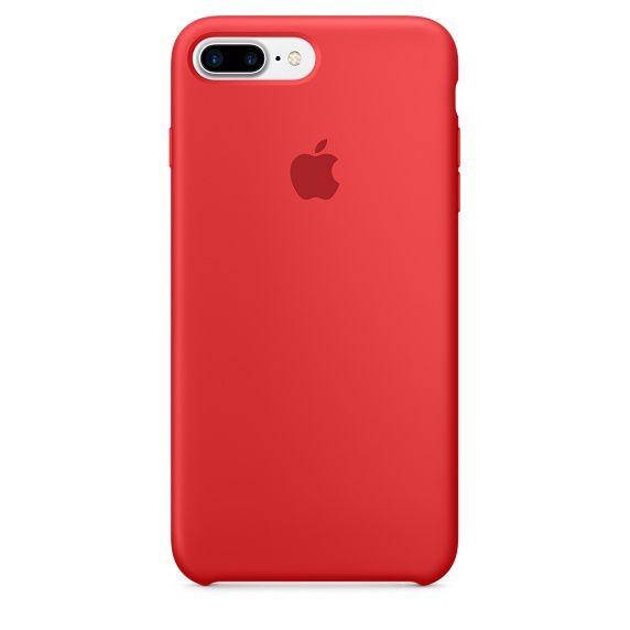 Чехол (клип-кейс) APPLE MMQV2ZM/A, для Apple iPhone 7 Plus, красный