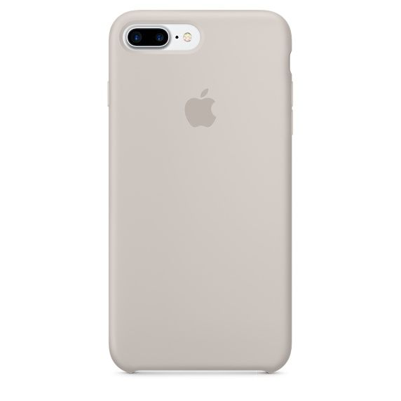 Чехол (клип-кейс) APPLE MMQW2ZM/A, для Apple iPhone 7 Plus, серый